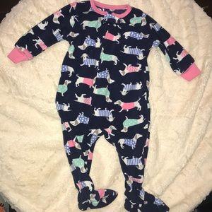 💤 Baby girl Carter's Fleece PJ  6m💤